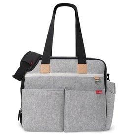 Skip Hop Skip Hop Duo Weekender Diaper Bag Grey Melange