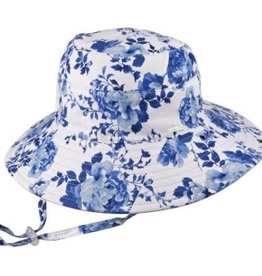 Millymook Millymook Girls Wide Brim - Pearl Blue