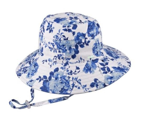 Millymook Millymook Girls Wide Brim - Pearl Blue