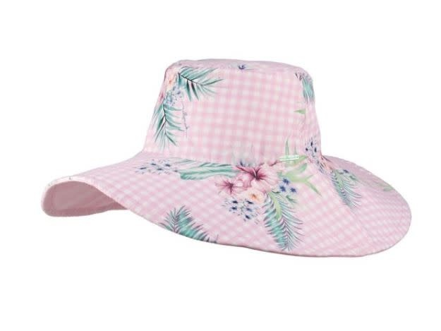 Millymook Millymook Girls Wide Brim - Abby Pink