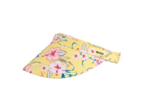 Millymook Millymook Girls visor - Lucy Yellow