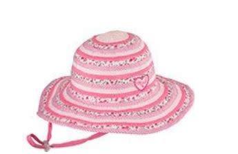 Millymook Girls Floppy - Sweetheart Pink