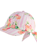 Dozer Millymook Girls Bow Cap - Peachy Peach