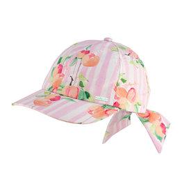 Dozer Millymook Girls Bow Cap - Peachy Peach