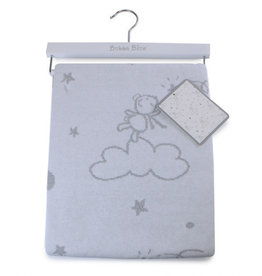 Bubba Blue Bubba Blue Wish Upon a Star Cotton Knit Blanket