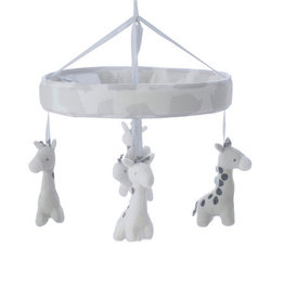 Bubba Blue Bubba Blue Grey Playtime Musical Mobile