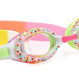 Bling2O Bling2O Girl's Goggles Take a Dip-N-Dots Yellow Birthday Cake