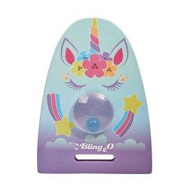 Bling2O Bling2O Girl's Unicorn Are Real Kickboard Glitter Girl