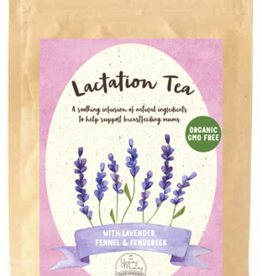 The Yummy Mummy Food Company Lactation Tea with Lavender, Fennel & Fenugreek