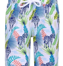 Sun Emporium Sun Emporium Boys Board Short Jungle Dayz Print