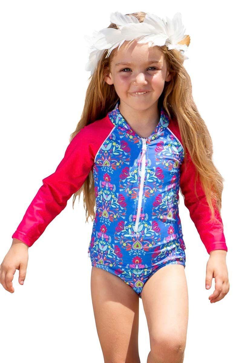 Sun Emporium Baby Girls Frida Long Sleeve Swimsuit