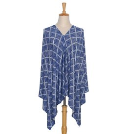 The Peanut Shell Peanut Shell 6 in 1 Nursing Poncho -  Aztec