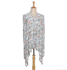 The Peanut Shell Peanut Shell 6 in 1 Nursing Poncho -  Cali Floral