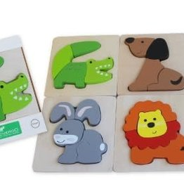 Discoveroo Discoveroo Chunky Puzzles - Animals