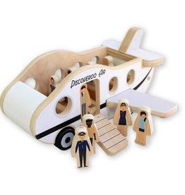 Discoveroo Discoveroo Aeroplane Play Set