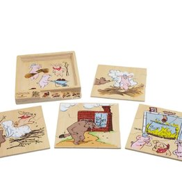 Discoveroo Discoveroo Three Pigs - Layered Story Puzzle