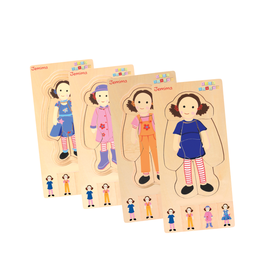 Discoveroo Discoveroo Dress Up Jemima Layer Puzzle