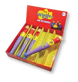 Discoveroo The Wiggles Mini Recorder