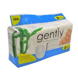 Gently Gently Eco Nappies - Newborn 30 Pack
