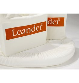 Leander Leander Organic Fitted Sheet x2 Snow White