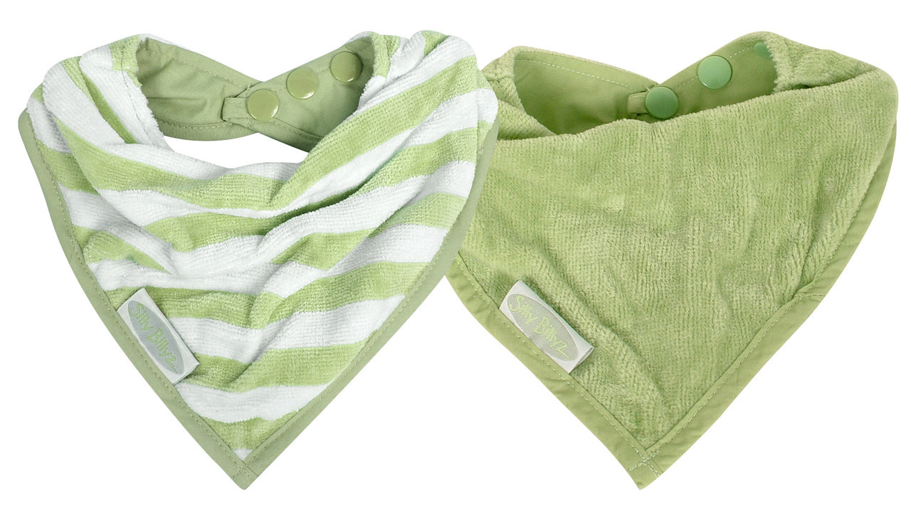 Silly Billyz Silly Billyz Organic Towel Bandana 2pk