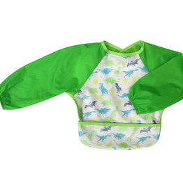 Silly Billyz Silly Billyz Wipe Clean Small Long Sleeved Bib With Pocket