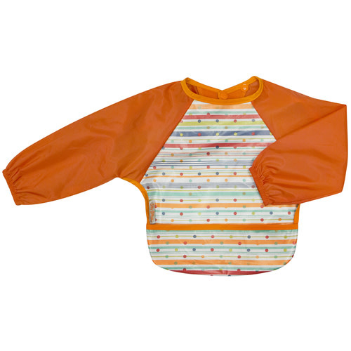 Silly Billyz Silly Billyz Wipe Clean Small Long Sleeved Bib With Pocket