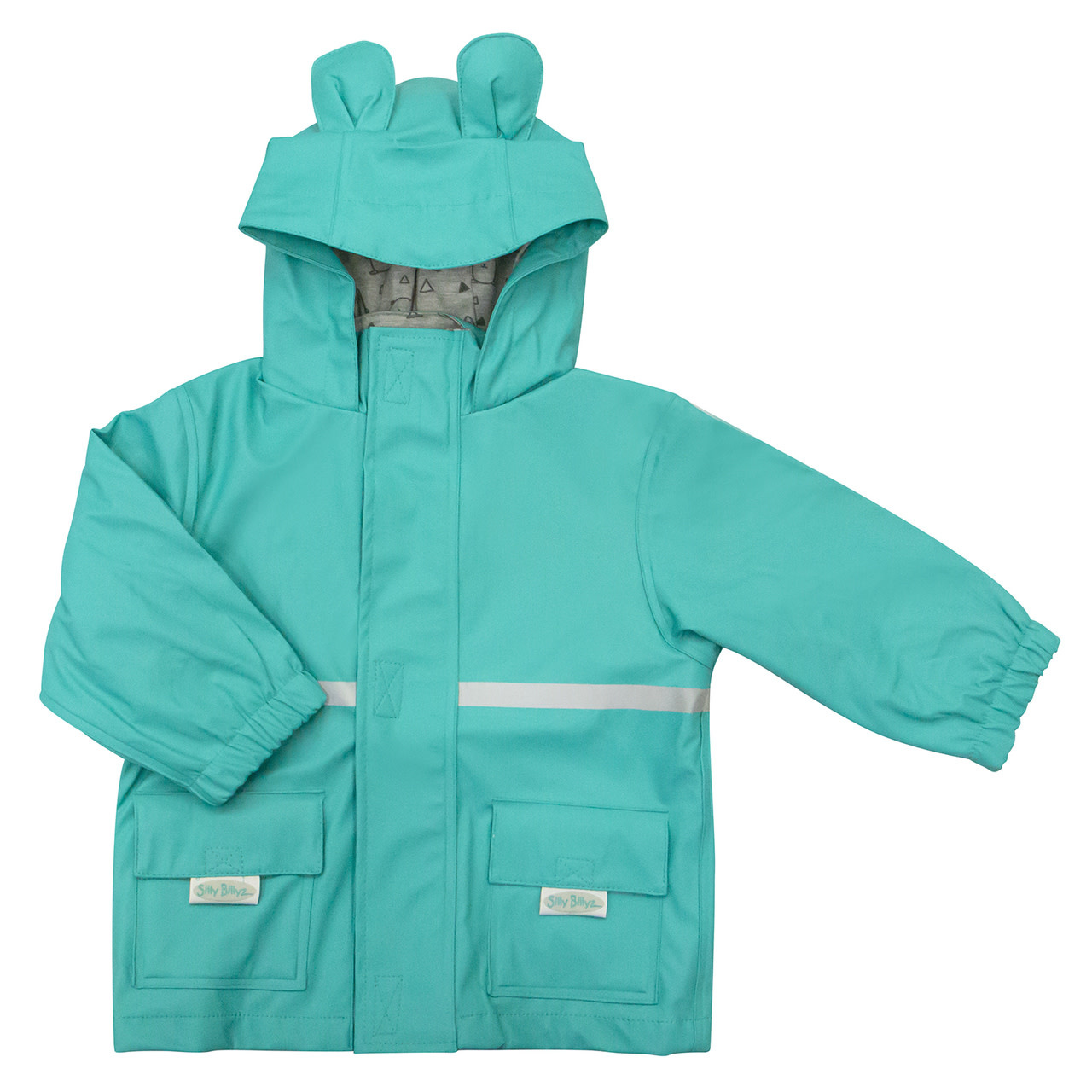 Silly Billyz Silly Billyz Waterproof Jackets Head Aqua