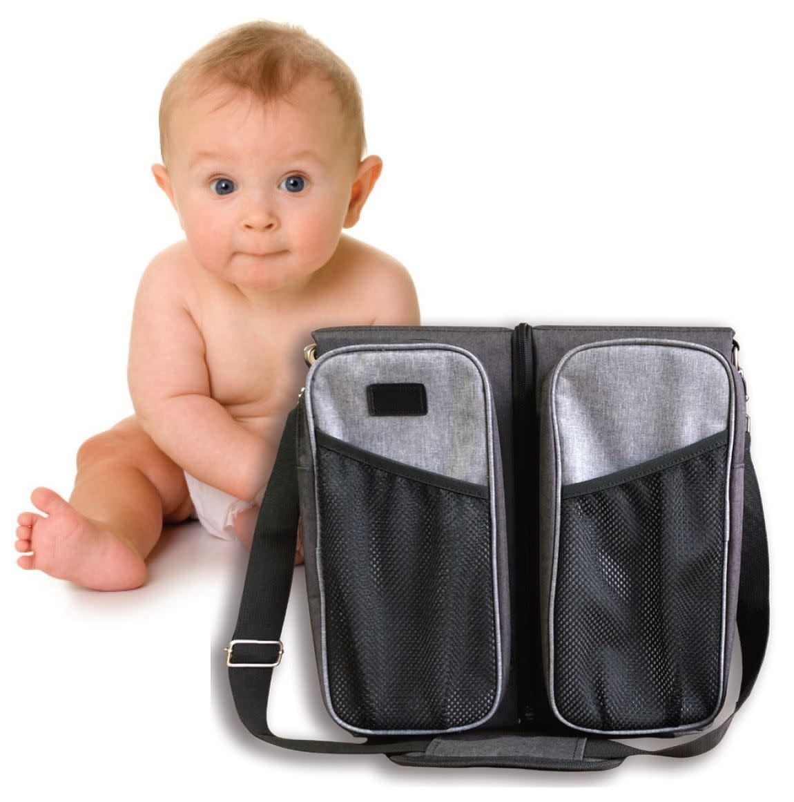 La Tasche La Tasche All In One - Baby Station Black