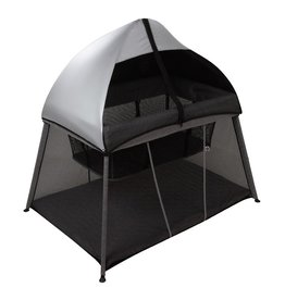 BeBecare BebeCare In & Out Travel Cot Black Silver