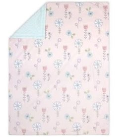 Little Haven Little Haven Flora Pram Blanket