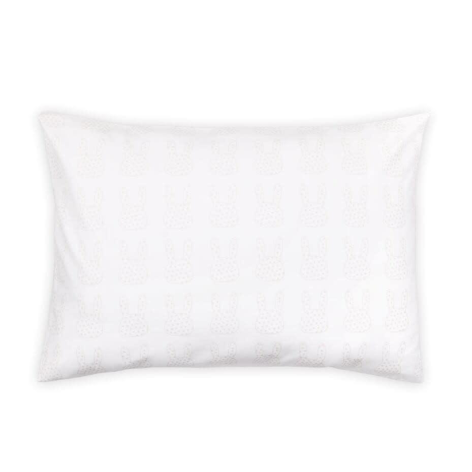 The Peanut Shell Peanut Shell Pepper 4-Piece Set (Quilt, Fitted Sheet, Pillowcase, Throw Pillow)