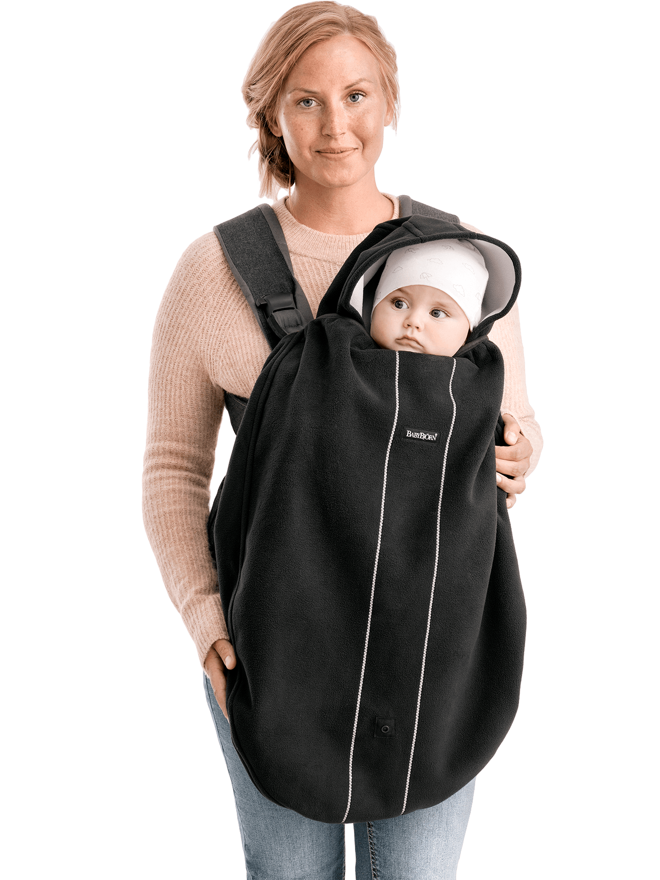 BabyBjorn BabyBjorn Cover for Baby Carrier Mini & One Black