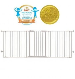 Dreambaby Dreambaby Newport Adapta-Gate - White