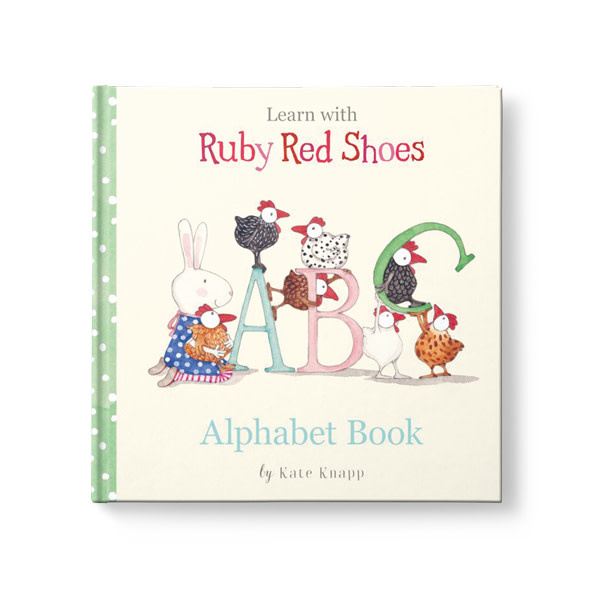 Affirmation Publishing Affirmations Publishing Ruby Red Shoes - Alphabet Book