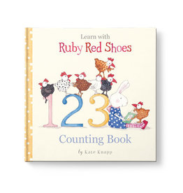 Affirmation Publishing Affirmations Publishing Ruby Red Shoes - Counting Book