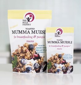 The Milk Pantry The Milk Pantry Mini Boost Toasted Mumma Muesli 70g