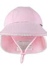 Bedhead Bedhead Girls Legionnaire Hat Ruffle Trim - Blush - 47cm / 6-12 months / S