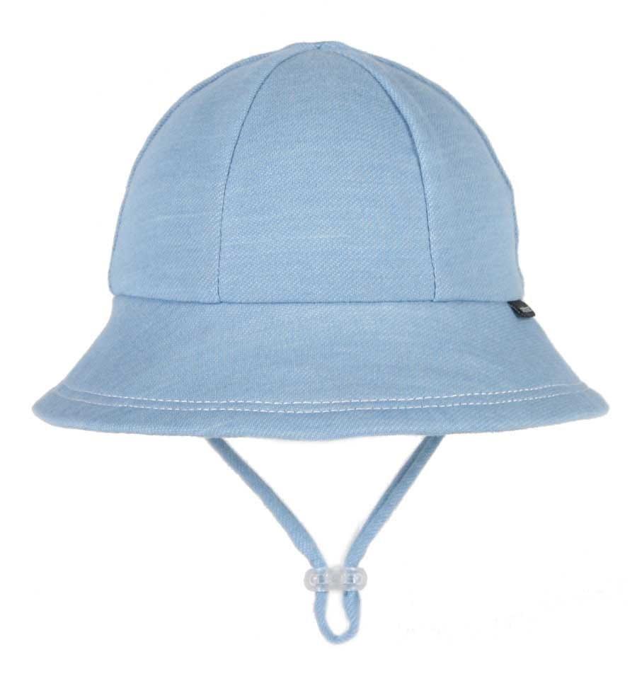 Bedhead Bedhead Baby Bucket Sun Hat - Chambray - 47cm / 6-12 months / S