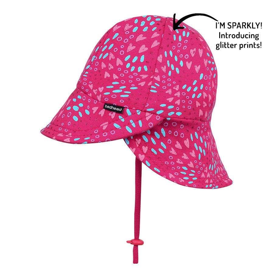 Bedhead Bedhead Girls Legionnaire Hat 'Amore' Print -50cm / 1-2 years / M