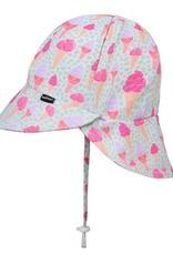 Bedhead Girls Beach Legionnaire Hat UPF50+ 'Ice Cream' Print -