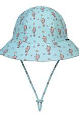 Bedhead Bedhead Girls Beach Hat Bucket UPF50+ 'Seahorse' Print 52cm / 2-3 years / L