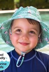 Bedhead Bedhead Boys Beach Hat Bucket UPF50+'Boats' Print - 52cm / 2-3 years / L