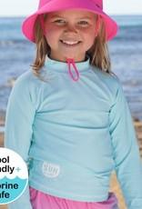 Bedhead Bedhead Kids Rash Vest UPF50+ - Aqua - 6-12 years / XXL