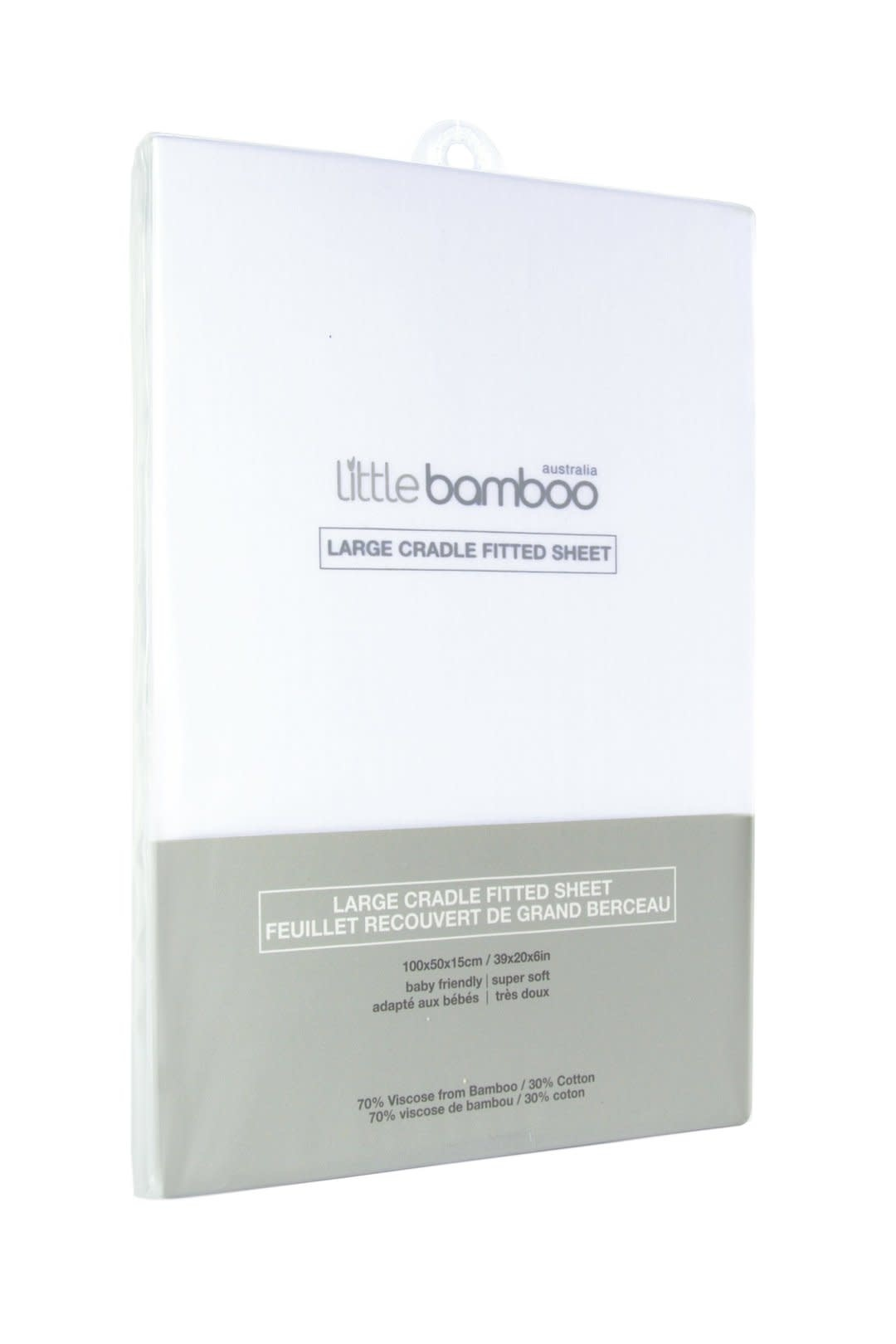 Little Bamboo Little Bamboo Cot Fitted Sheets - 135x77x19cm