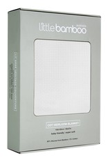 Little Bamboo Little Bamboo Heirloom Blanket Cot - 150 x 120cm