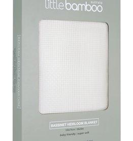 Little Bamboo Little Bamboo Heirloom Blanket Bassinet - 100 x 75cm