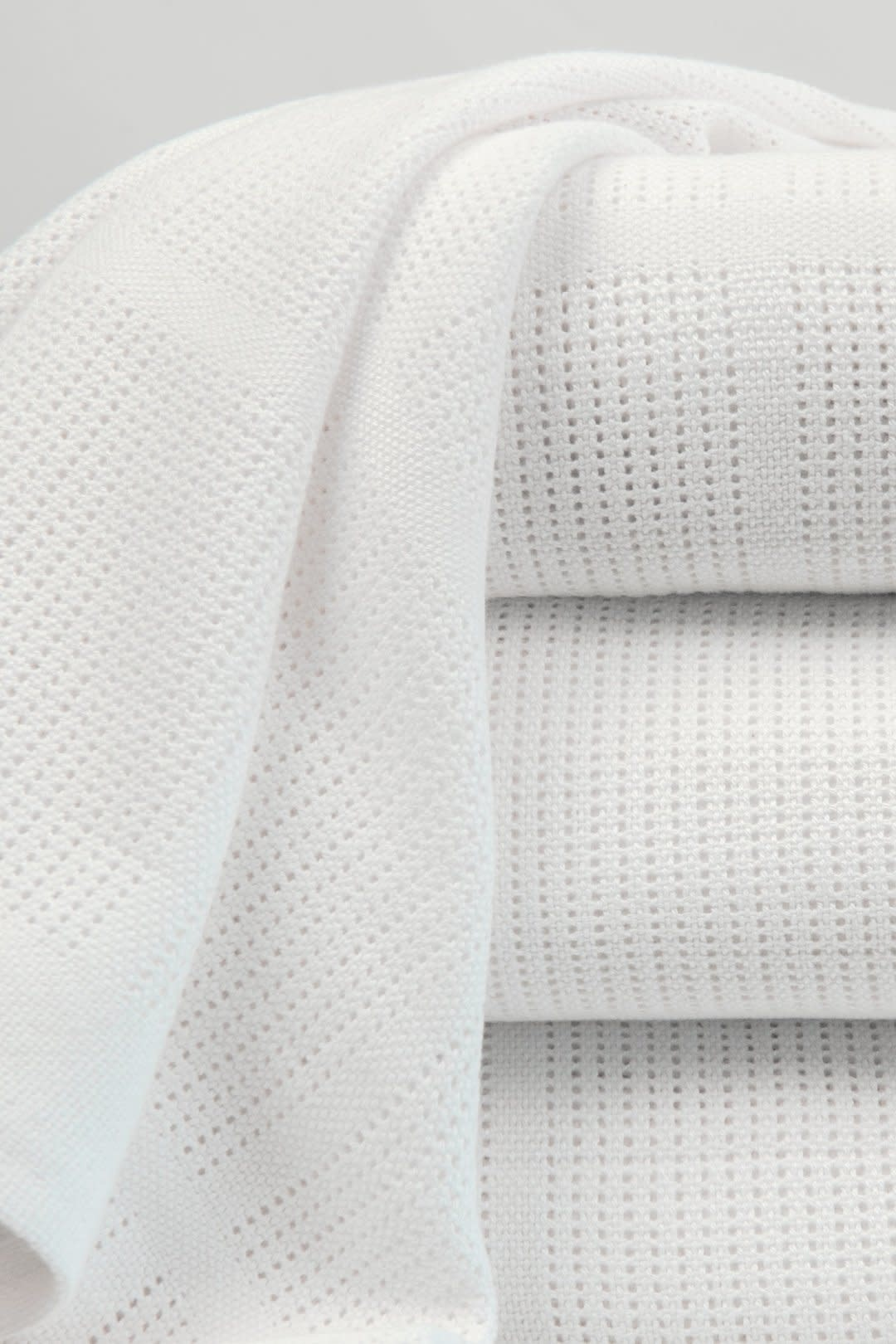 Little Bamboo Little Bamboo Cellular Blanket Bassinet - 100 x 75cm