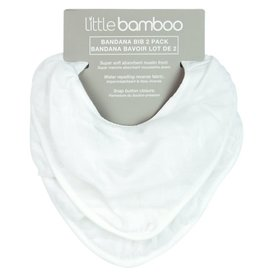 Little Bamboo Little Bamboo Muslin Bib 2Pk