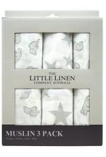 Little Linen Little Linen Muslin 3 Pack Prints